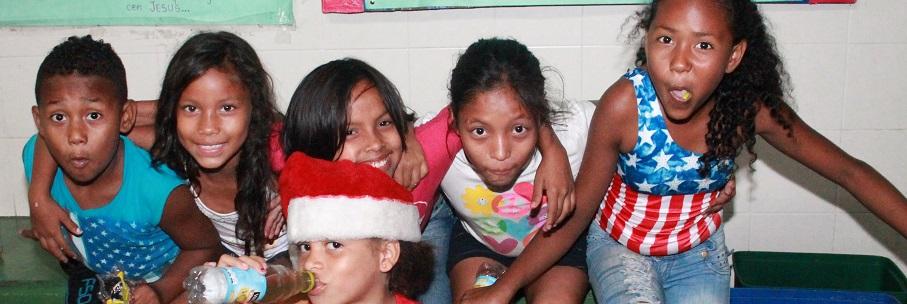 Kinder im Obdachlosenheim