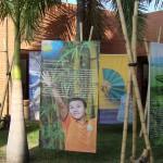 Bambusausstellung in Kolumbien