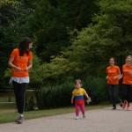 Unsere jüngste Läuferin - Mathilda! :)