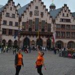 Diana und Lisa auf dem Frankfurter Römer