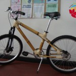 Bambus-Fahrrad!