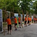 Mit Bambusausstellung!