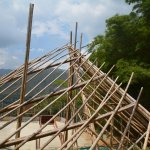 """Hier entsteht """"La Tortuga"""" (Die Schildkröte)- und der multifunktionale Versammlungssaal für die Schüler."""